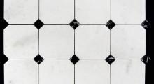 White KP octogonal 9.7 cm