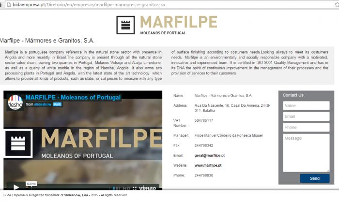 Companys Identity - Marfilpe