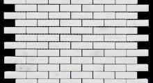White K.P 4.8x1.5 cm